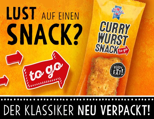Wolf Currywurst Snack